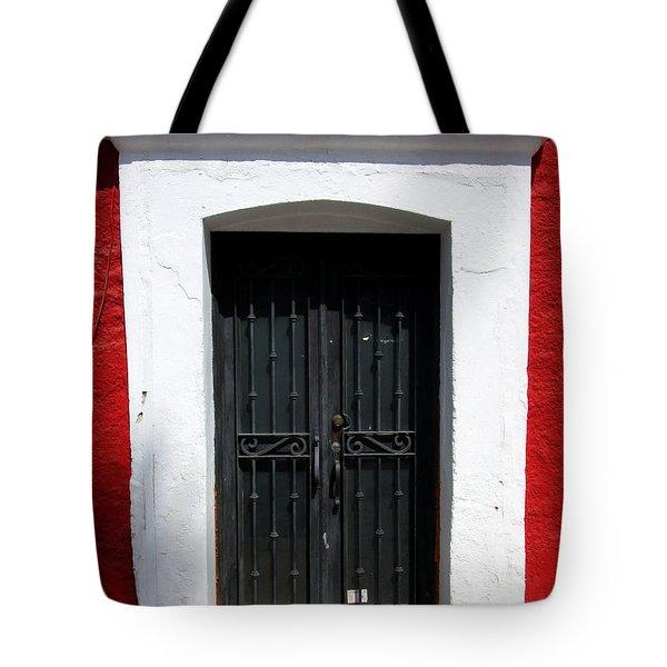 San Jose Del Cabo Door 8 Tote Bag