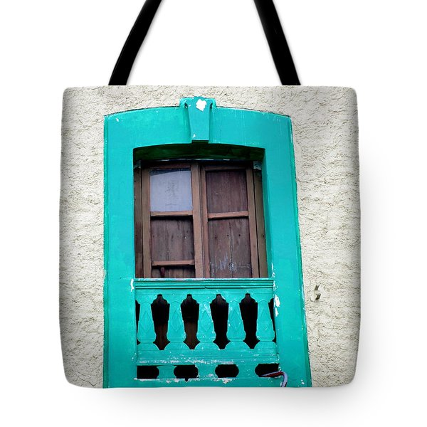 San Jose Del Cabo Window 12 Tote Bag by Randall Weidner