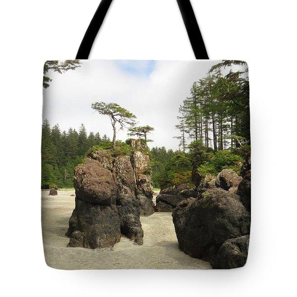 San Josef Stacks Tote Bag