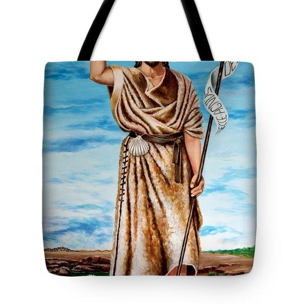 San Juan Bautista Tote Bag by Edgar Torres