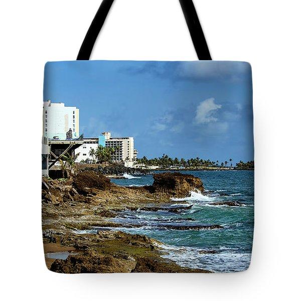 San Juan Bay In Puerto Rico Tote Bag