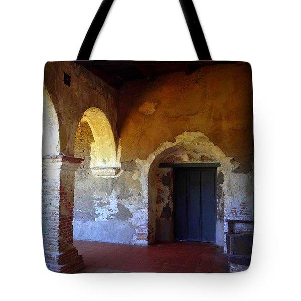 San Juan Capistrano Mission Tote Bag