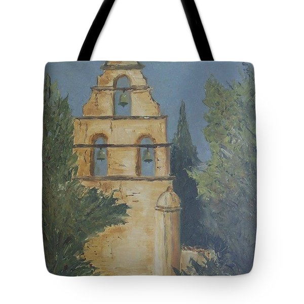 San Juan Mission Tote Bag