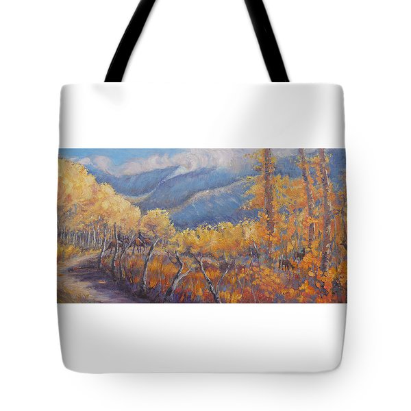 San Juan Mountain Gold Tote Bag