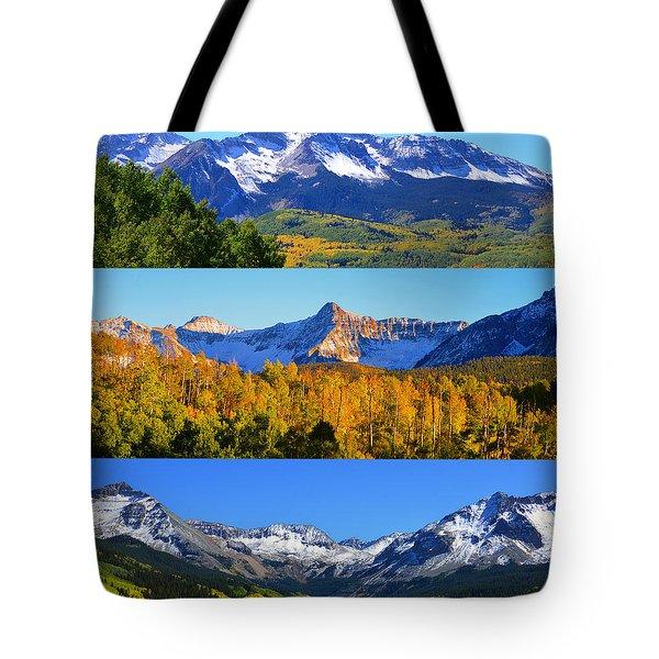 San Juan Mountains Colorado Tote Bag