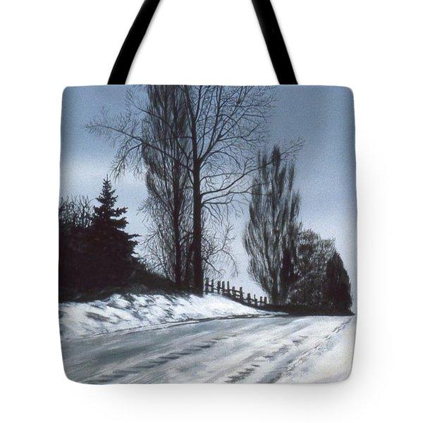 San Juan Snow Tote Bag