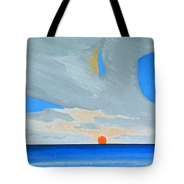 San Juan Sunrise Tote Bag by Dick Sauer