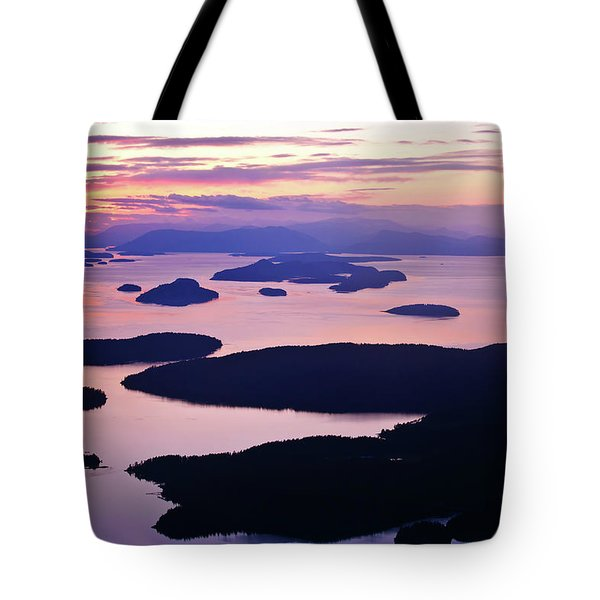 San Juans Tranquility Tote Bag by Mike Reid