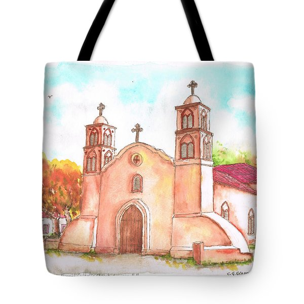 San Miguel Catholic Church, Socorro, New Mexico Tote Bag