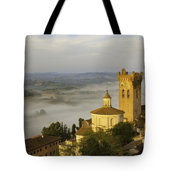 Tote Bag featuring the photograph San Miniato by Brian Jannsen