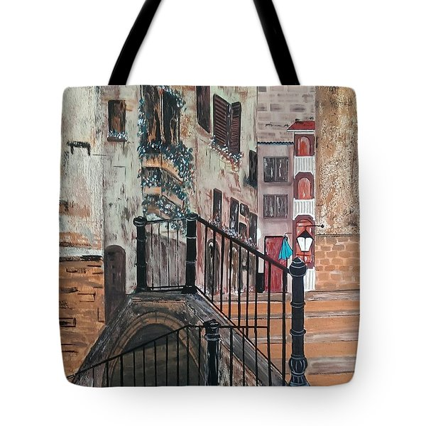 San Polo Venice Tote Bag by Judi Goodwin