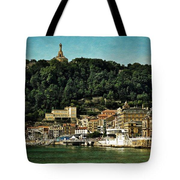 San Sebastian Spain Tote Bag