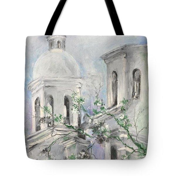 San Xavier Mission Tote Bag