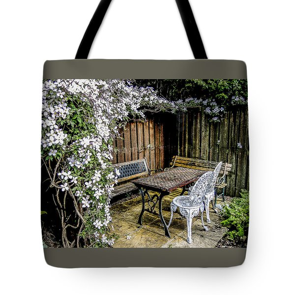 Sanctuary Tote Bag by Sally Ross