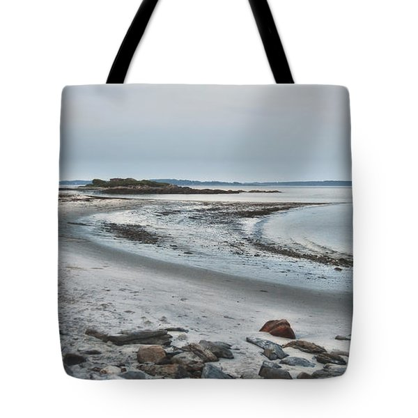 Sand Along The Shoreline Tote Bag