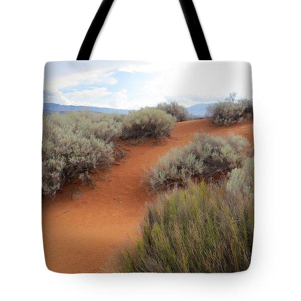 Sand And Sagebrush Tote Bag