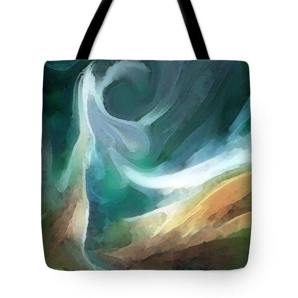 Sand And Sea Tote Bag by Carol Cavalaris