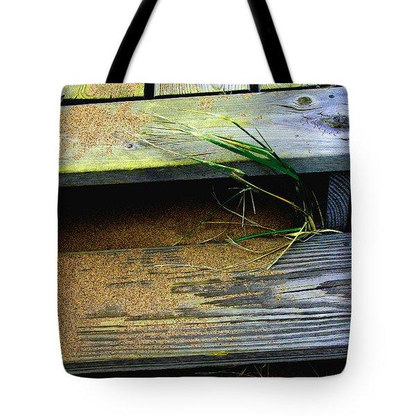 Sand  And  Steps  Tote Bag
