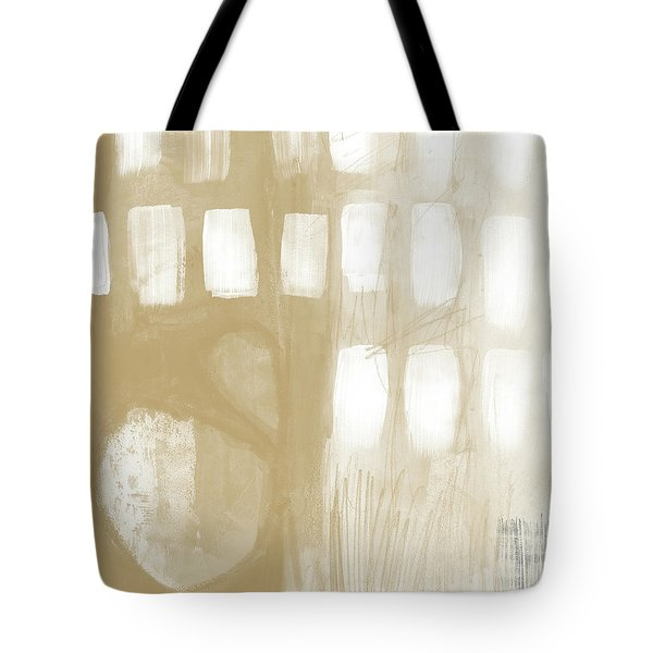 Sand And Stone 4- Contemporary Abstract Art By Linda Woods Tote Bag