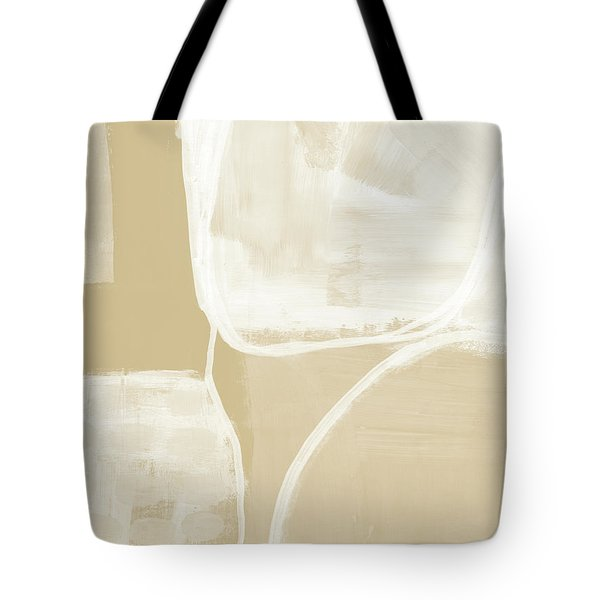 Sand And Stone 5- Contemporary Abstract Art By Linda Woods Tote Bag