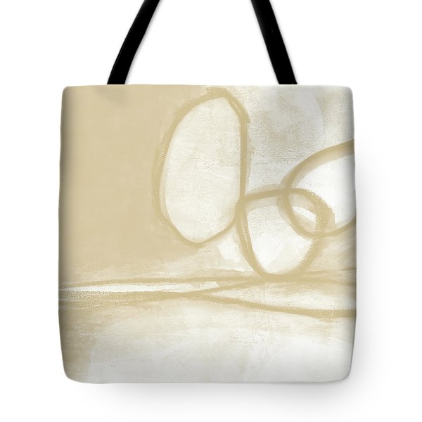 Sand And Stone 6- Contemporary Abstract Art By Linda Woods Tote Bag