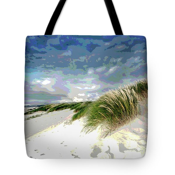 Sand And Surfing Tote Bag