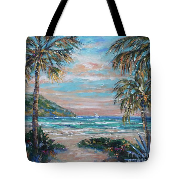 Sand Bank Bay Tote Bag