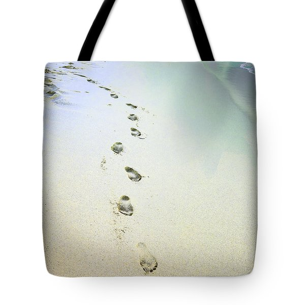 Tote Bag featuring the photograph Sand Between My Toes by Betty LaRue