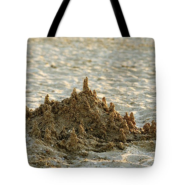 Sand Castle Tote Bag