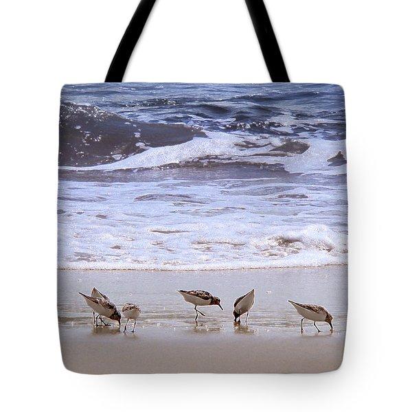 Sand Dancers Tote Bag by Steven Sparks
