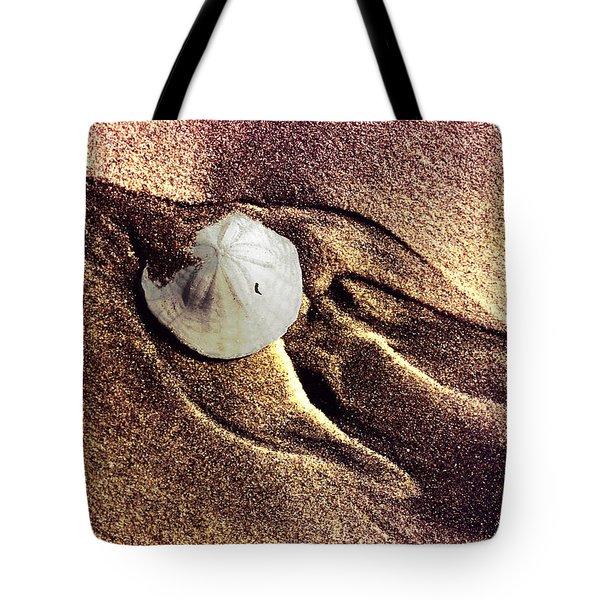 Sand Dollar Bird Tote Bag