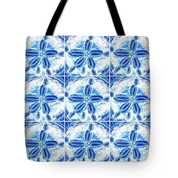 Sand Dollar Delight Pattern 3 Tote Bag
