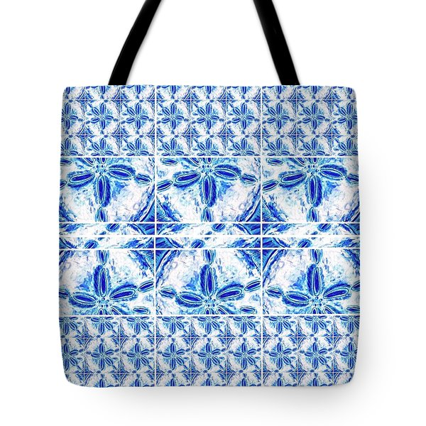 Sand Dollar Delight Pattern 6 Tote Bag