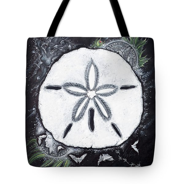 Sand Dollars Tote Bag