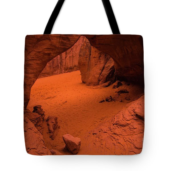 Sand Dune Arch - Arches National Park - Utah Tote Bag