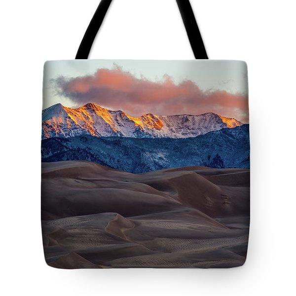 Sand Dune Sunrise Tote Bag