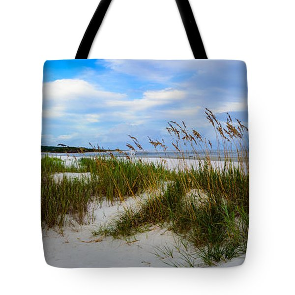 Sand Dunes And Blue Skys Tote Bag
