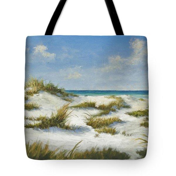 Sand Dunes Morning By Alan Zawacki Tote Bag
