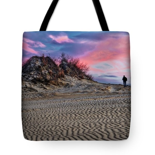 Sand Dunes Of Kitty Hawk Tote Bag