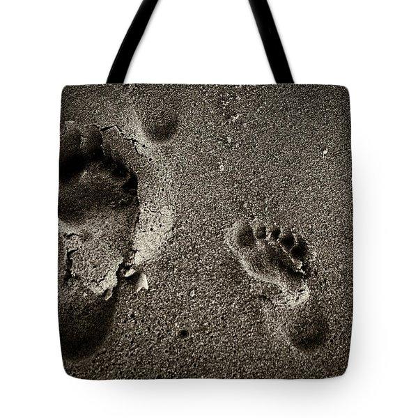 Sand Feet Tote Bag