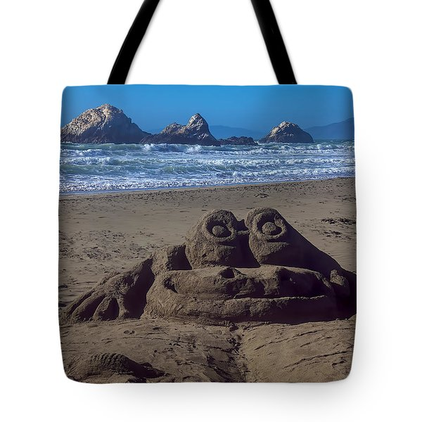 Sand Frog  Tote Bag by Garry Gay