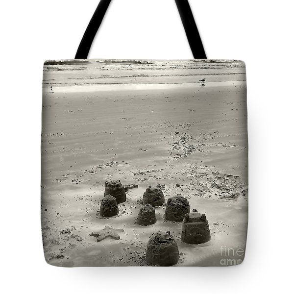 Tote Bag featuring the photograph Sand Fun by Raymond Earley