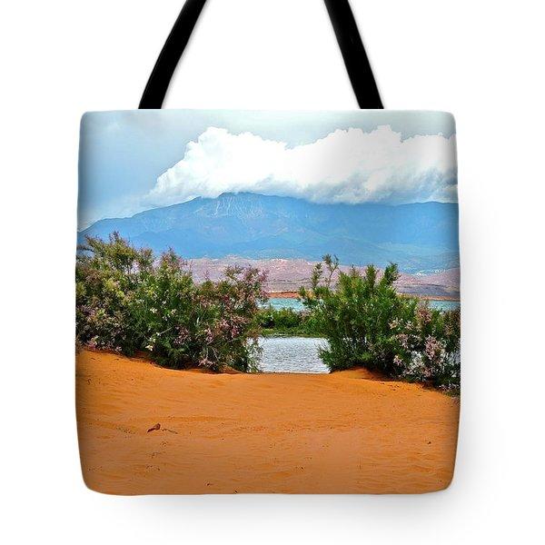 Sand Hallow Reservoir Tote Bag