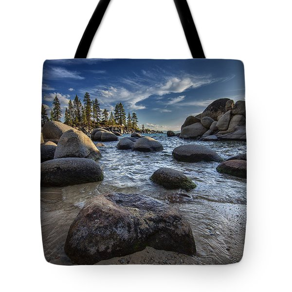Sand Harbor II Tote Bag