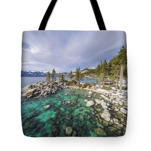 Sand Harbor Views Tote Bag