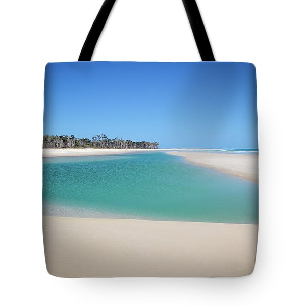 Sand Island Paradise Tote Bag
