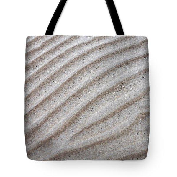 Sand Lines Tote Bag