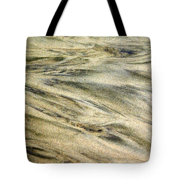 Sand Pattern Tote Bag by Marty Koch