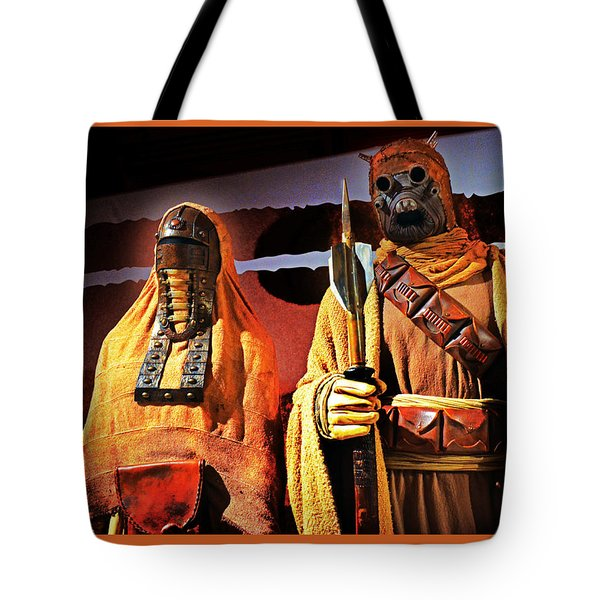 Sand People Tote Bag