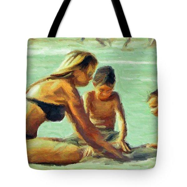Sand Play Tote Bag